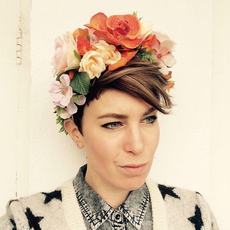 www.by-rk.com #coachella #festival #flowercrown #fashion #garland #flowers #flowergirl #handmade #byrk #fashiondesign #model #accessories #flowercrown #halo #bridal #flowergirl #scotchandsoda