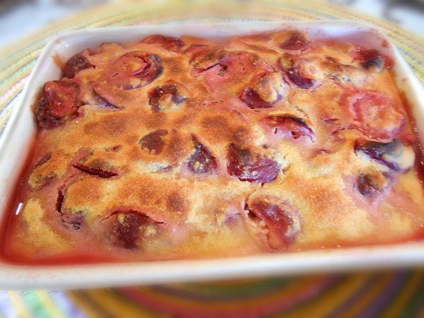 Clafoutis aux cerises sans gluten et sans lactose : la recette
