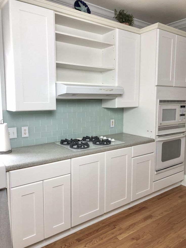 Easy DIY Kitchen Cabinet Reface For Under $200 | Diy ...