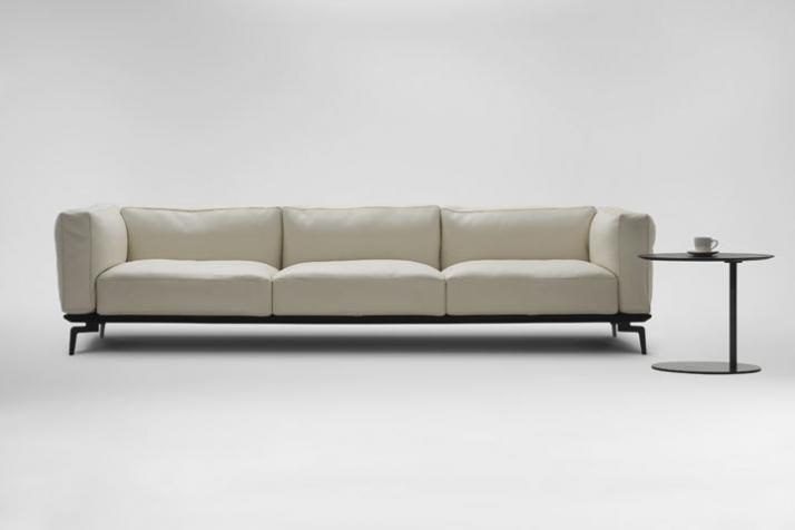 Camerich Avalon sectional. Soft lines and cozy cushions make it perfect for relaxing with a good book. Available through HighStreet.