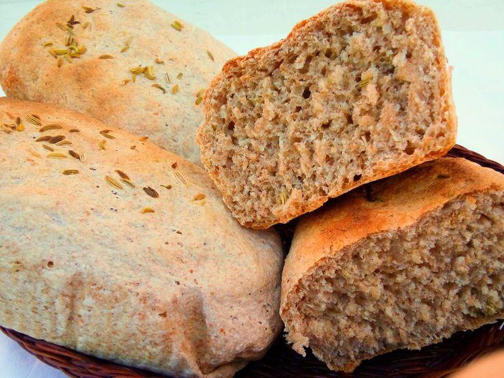 Pane semintegrale ai semi di finocchio