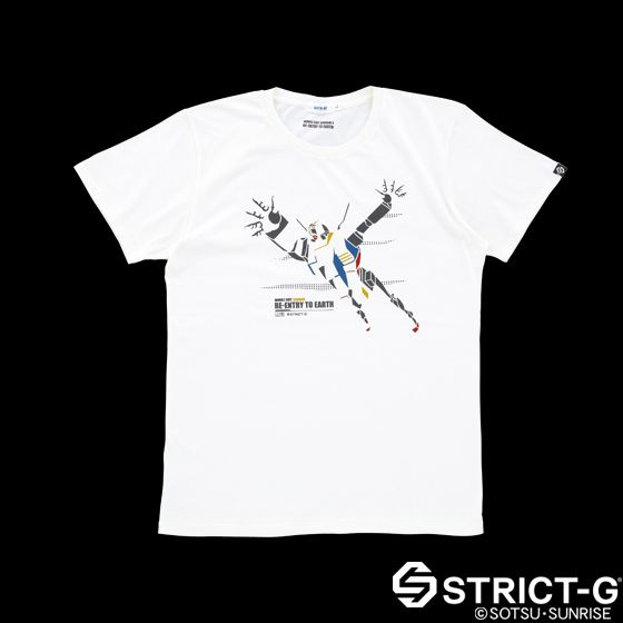 STRICT-G エピソード柄Tシャツ セレクト 第5話 「大気圏突入」 | プレミアムバンダイ | バンダイ公式通販サイト