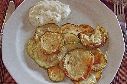 Frittierte Zucchini im Teig 1