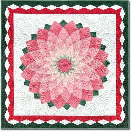 Giant Dahlia Quilt Images : The quilting truly