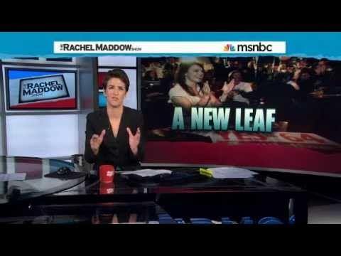MSNBC Rachel Maddow Show - Legalizing Marijuana What's Next? Cheryl Shuman Video Diary