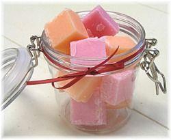 DIY Buttery Bath Melts