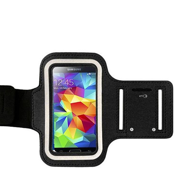 Samsung Galaxy S5 Armband, Galaxy S5 Armband Case, TabPow Black Neoprene Sports Gym Jogging Cover Sleeve Pocket Pouch For Samsung Galaxy S5, Samsung Galaxy S4, Samsung Galaxy Note 3, Samsung Galaxy Note 2, Android Smartphones Mobile Phones. Adjustable strap on the Armband allows comfortable and easy Fit for Samsung Galaxy S5, Samsung Galaxy S4, Samsung Galaxy Note 3, Samsung Galaxy Note 2, Android Smartphones Mobile Phones. Access to headphones and all controls, allow for full…