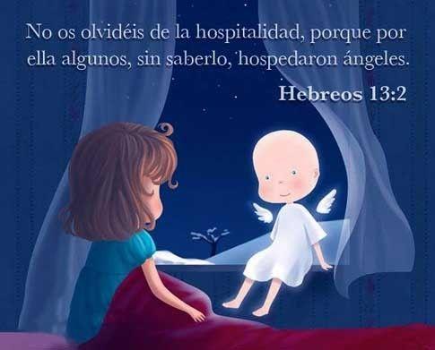 imágenes de ángeles con frases niños bebes