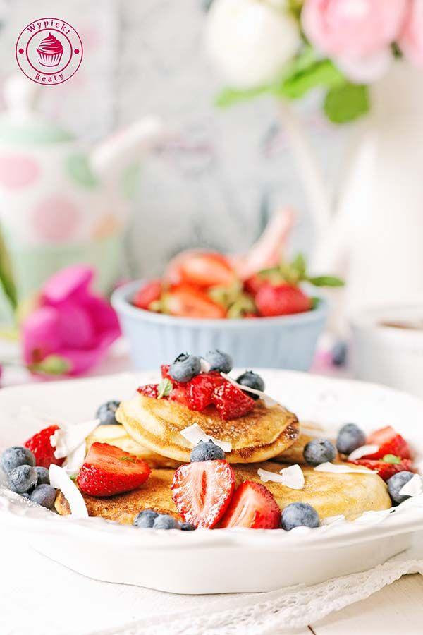 Coconut pancakes - kokosowe pancakes