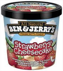 The Ice Cream Snob: Ice cream review: Ben & Jerry's Strawberry Cheesecake