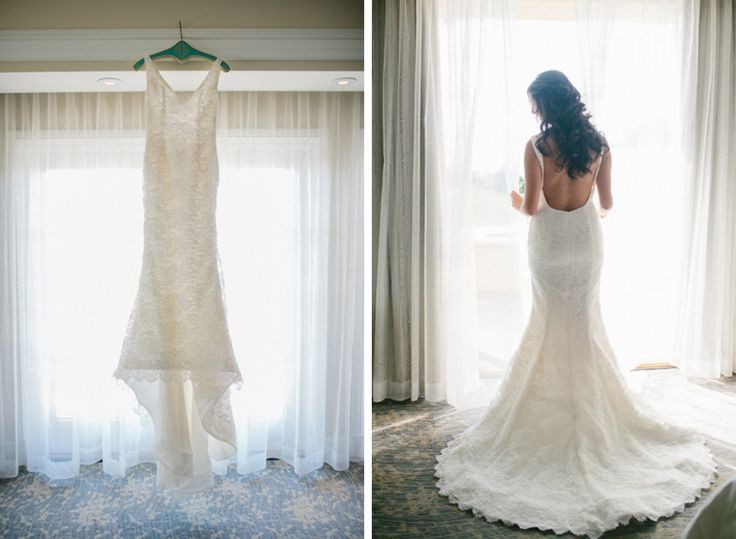 Lindsey & Michael // Married Custom Juliette gown by Sarah Jassir Image by Cami June photography.