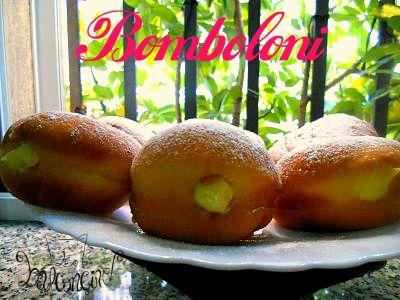Bomboloni #lievitatidolci #bomboloniallacrema #colazione #crema