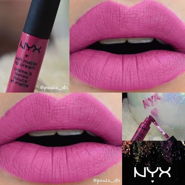 Hello..^^ Today I did one more lipstick swatch: Prague by @nyxcosmetics I'm in LVE w/ this collection..^^ The colors are very beautiful and the formula is creamy which allows for smooth application. It goes on well and sets effortlessly to a nice matte!