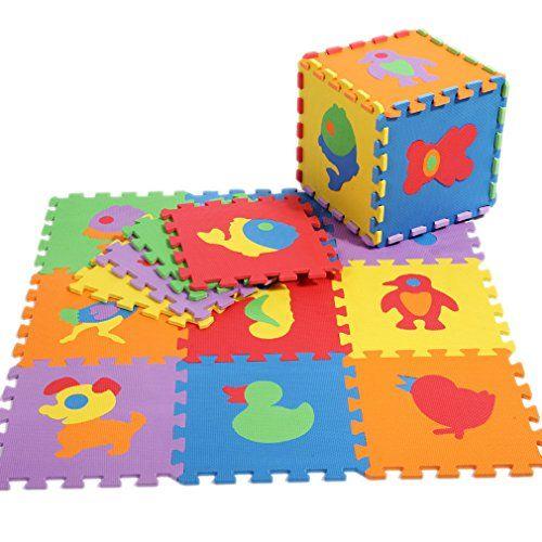 17 mejores ideas sobre alfombra de juegos de beb en - Alfombra puzzle ninos ...