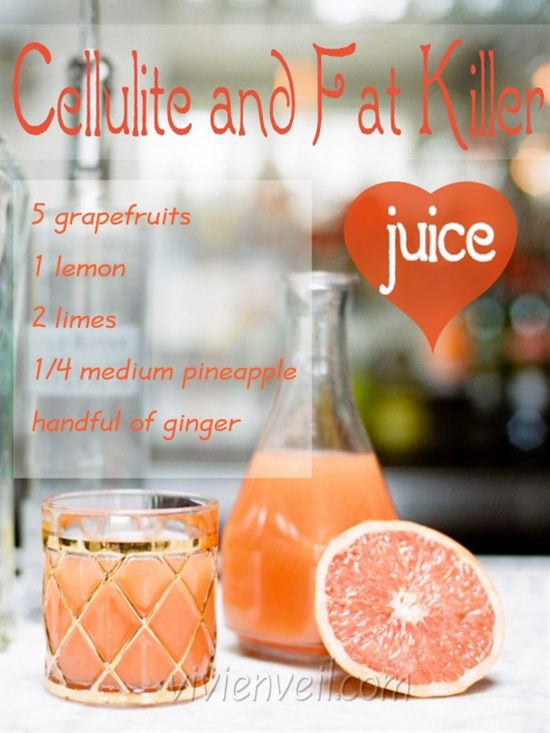 Cellulite & Fat Killer Juice