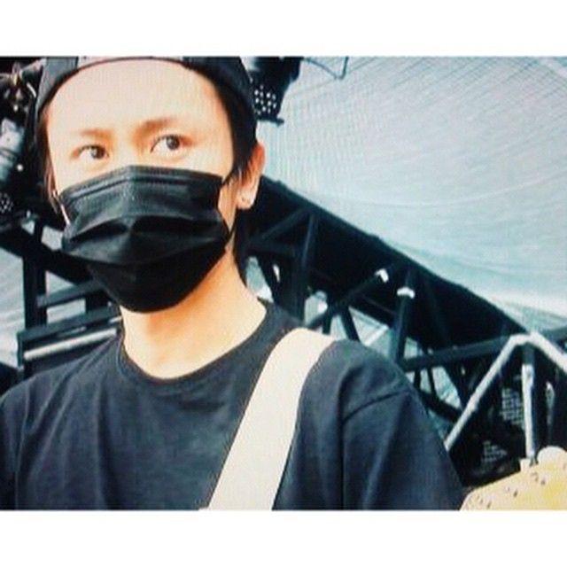 黒マスク似合うよ、安田くーん #十祭 #安田章大