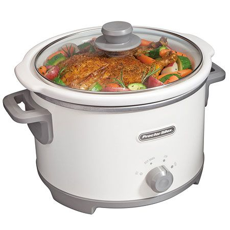 (click twice for updated pricing and more info) Hamilton Beach Small Kitchen Appliances - PS - 4 Quart Slow Cooker, White #kitchen_appliances #slow_cooker http://www.plainandsimpledeals.com/prod.php?node=35435=Hamilton_Beach_Small_Kitchen_Appliances_-_PS_-_4_Quart_Slow_Cooker,_White_-_33042#