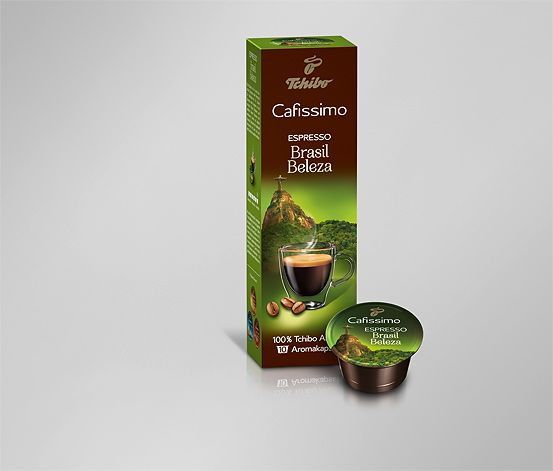 Espresso Brasil Beleza,10 kapslí