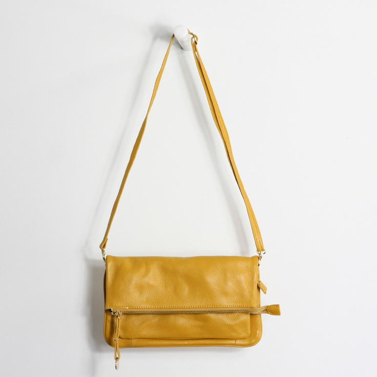 Hampton Leather Shoulder Bag