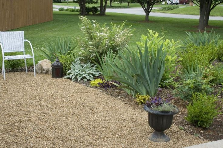 Pea Gravel Landscaping Ideas : pea gravel patioGardens Ideas, Backyards Projects, Gravel Patios