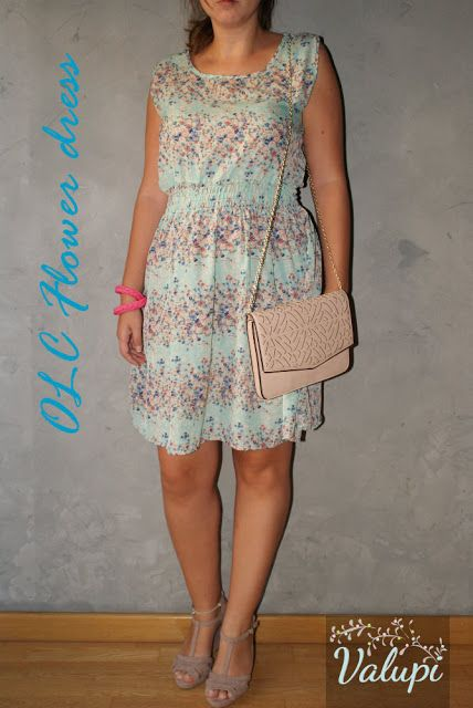Valupi - Handmade with love: Outfit low cost: flower dress