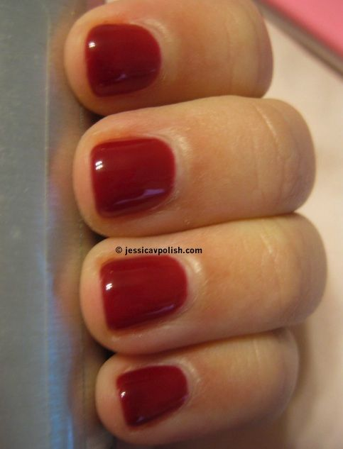 25+ Beautiful Red Shellac Nails Ideas On Pinterest