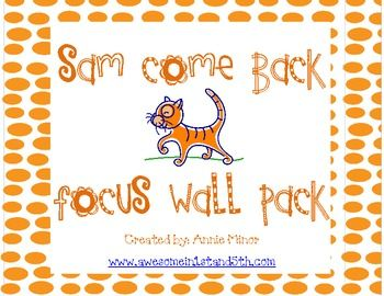 This freebie includes printables for your reading focus wall in  a 1st grade classroom that utilizes Reading Street.  This is the first story in Unit 1.  The packet includes a Question of the Week poster, phonics skills posters, Comprehension skill poster, Genre poster, Grammar skill poster, Amazing Words cards with word and picture on each, spelling words, and high frequency words.