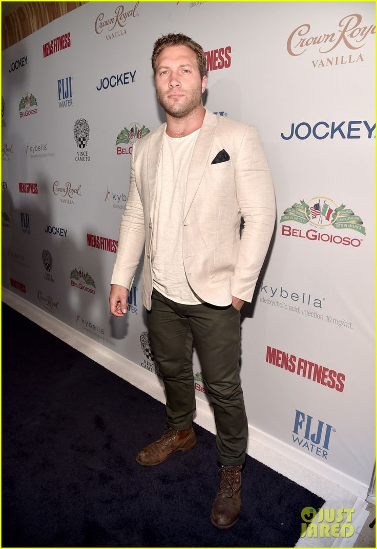 Jai Courtney at Men's Fitness's 2016 Game Changers Celebration held at Sunset Tower Hotel on Monday (October 10) in West Hollywood, Calif.