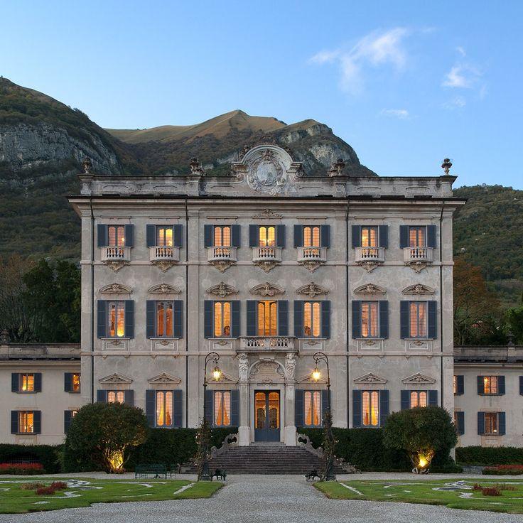 A Rare Glimpse Inside an Iconic Italian Villa Sola Cabiati, or—to those in the know—La Quiete. Lake Como, Italy
