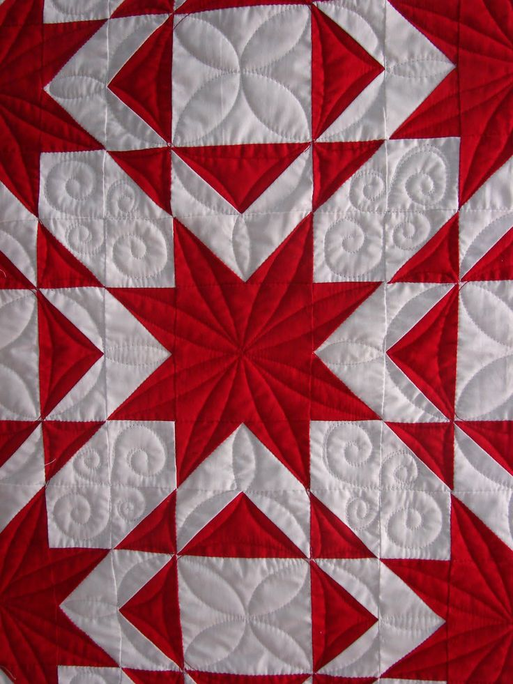 317 Best Red And White Quilts Images On Pinterest White
