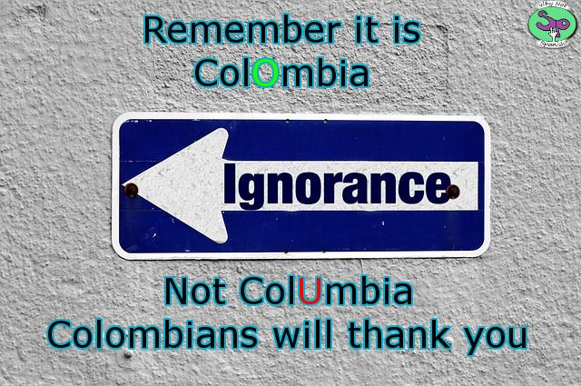 Please try not to make this mistake in #2017.  #Spanish #Colombia