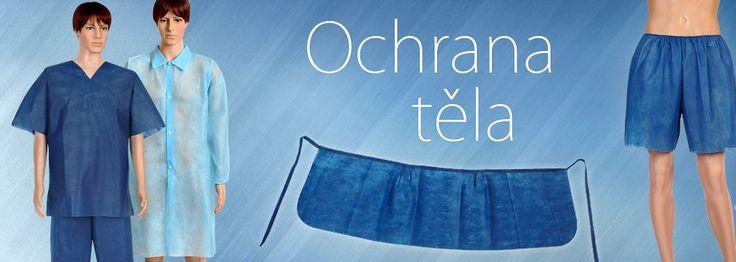 Ochranné oděvy pro ochranu těla:  www.jednorazoveodevy-haccp.cz/c/ochrana-tela