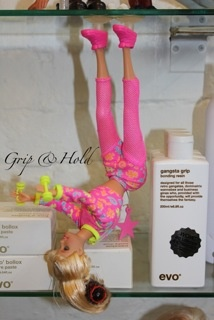 Gangster grip Barbie defying gravity resin  evo Tonik hair body
