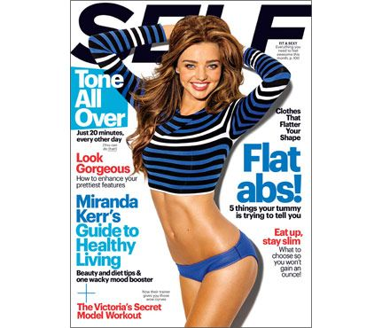 More from Miranda in our December issue.  • 5 Things Your Tummy Is Trying To Tell You • Clothes That Flatter Your Shape • The Complete Victoria's Secret Model Workout
