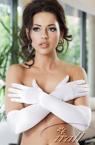 Irall Erotic Astrid Gloves (White)