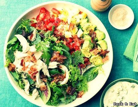 "Рецепт Кобб Салат - Салаты - Cook and Eat"""