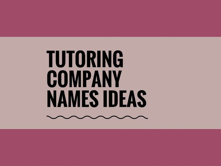 While your business may be extremely professional and important, choosing a creative company name can attract more attention.A Creative name is the most important thing of marketing. Check here creative, best Tutoring company names ideas for your inspiration.