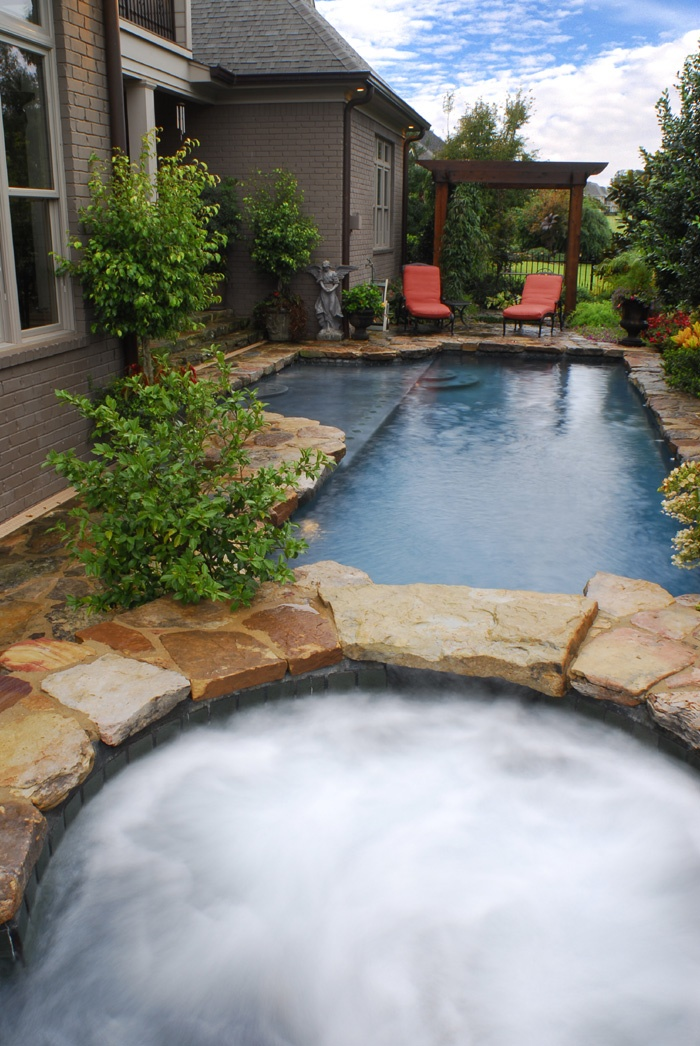 Want This Dream Pool And Hot Tub Combo In Backyard Dream Home Pinterest Dream Pools
