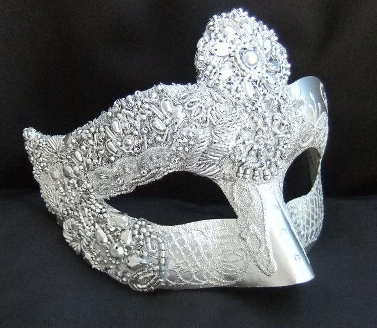 Silver Masquerade Masks - Bing Images.