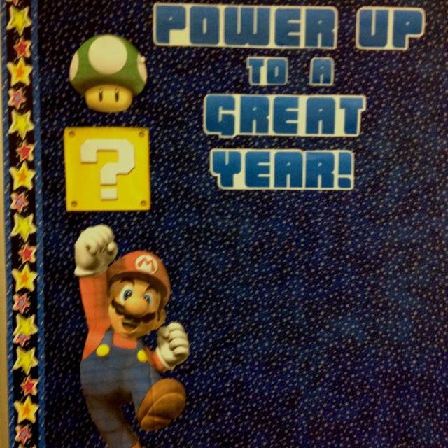 Mario bros mario and bulletin boards on pinterest
