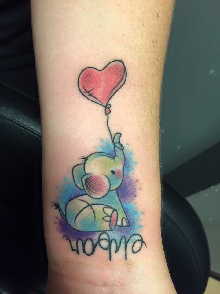 Best 25 Baby Elephant Tattoo Ideas On Pinterest