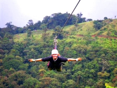 Zip line!Amazing Fly, Rica Oct, Buckets Lists, Craziest Things, Rica Suspenders, Places I D, Costa Rica, Long Zip