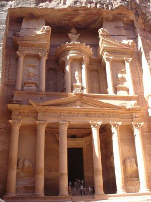 ヨルダン:ペトラ遺跡:インディージョーンズ