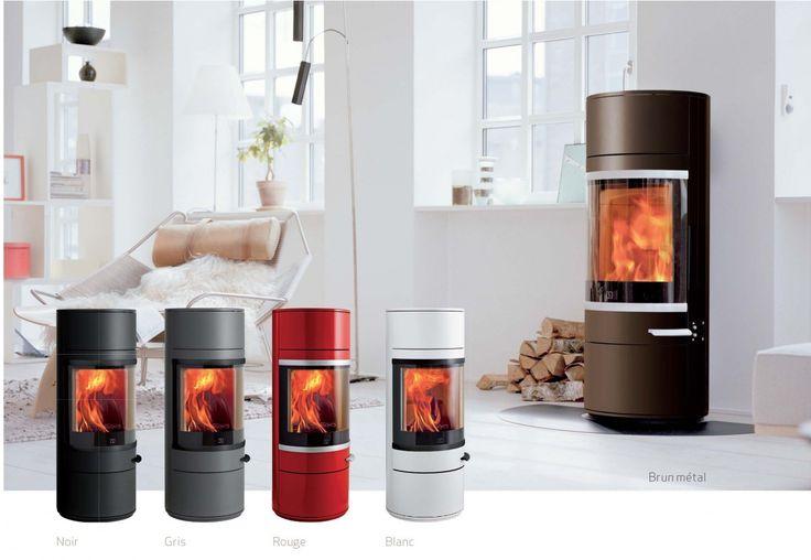 Atry Home - Catalogue de poêle à bois de couleurs pour une décoration réussie