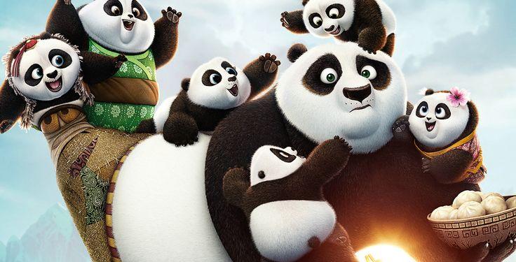 """Gewinne ein Fansets zu """"Kung Fu Panda 3"""" - Bis zum 27. März verlost Pointer drei Fansets zu """"Kung Fu Panda 3"""". Gewinnen kannst du je das Kinoplakat, zwei Kinotickets, eine Maske und einen Schlüsselanhänger."""