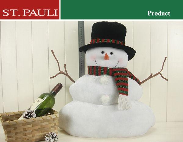 18inch Xmas Snowman Decoration, View xmas snowman, ST.PAULI Product Details from St.Pauli Garment & Craft Factory(Shantou) on Alibaba.com