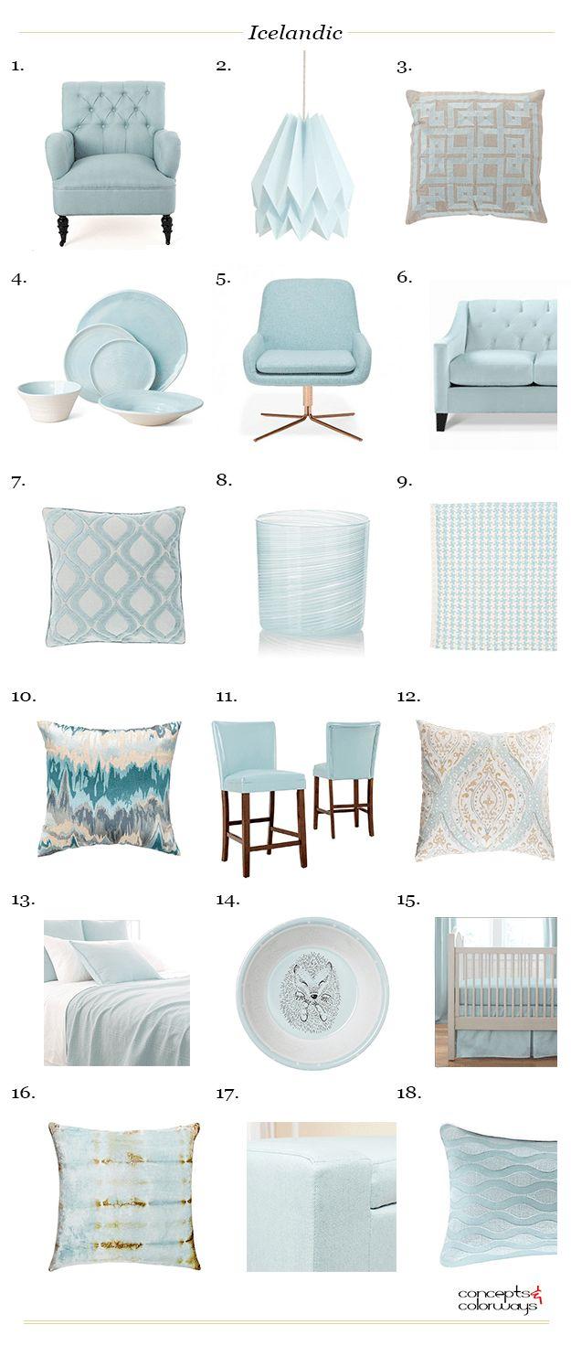 sherwin williams icelandic, interior design product roundup, interior styling ideas, interior design ideas, sky blue, mint blue, seafoam green, pale blue, baby blue, light blue, blue-green, green-blue, aqua blue