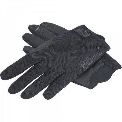 Biltwell Inc. Motorcycle Riding Gloves Black - Deadbeat Customs