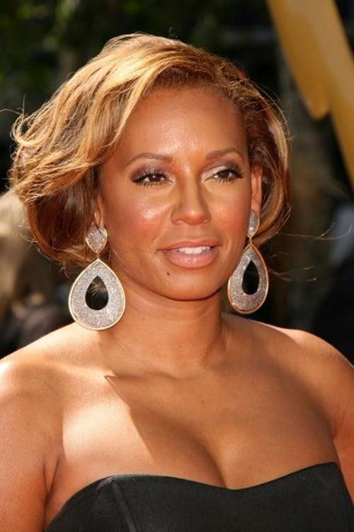 African American Hairstyles, Mel B. Hairstyles, Messy Updo Hairstyles, Updo Hairstyles   http://www.nexthairstyles.com/melanie-browns-updo-hairstyle/ http://www.nexthairstyles.com/category/academy-awards/ http://www.nexthairstyles.com/category/actors-guild-awards/ http://www.nexthairstyles.com/category/african-american-hairstyles/