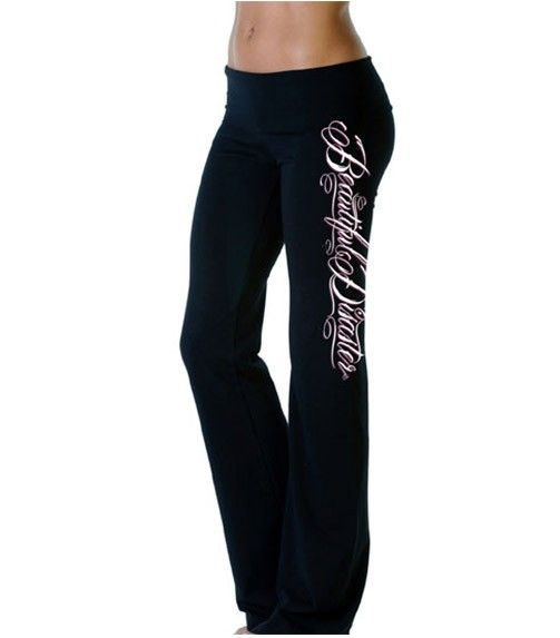 Scripty Vertical Pants by Beautiful Disaster..WANT